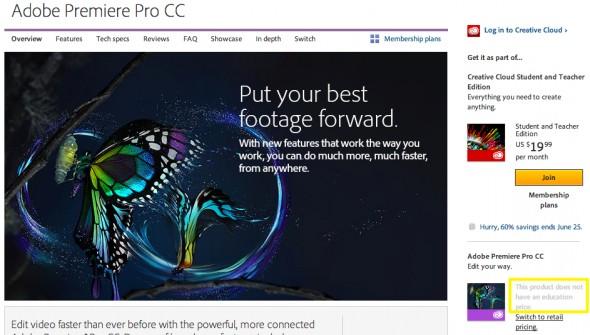 Adobe Premiere Pro CC Creative Cloud