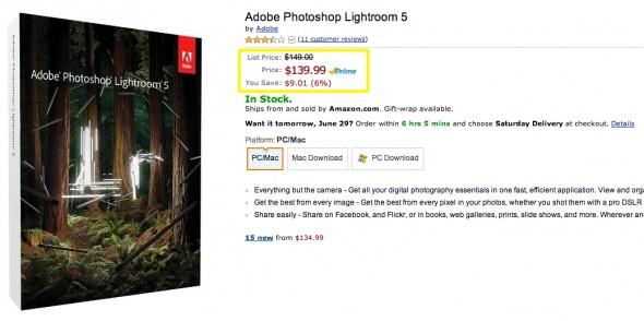 Amazon.com_ Adobe Photoshop Lightroom 5 - Mac [Download]_ Software
